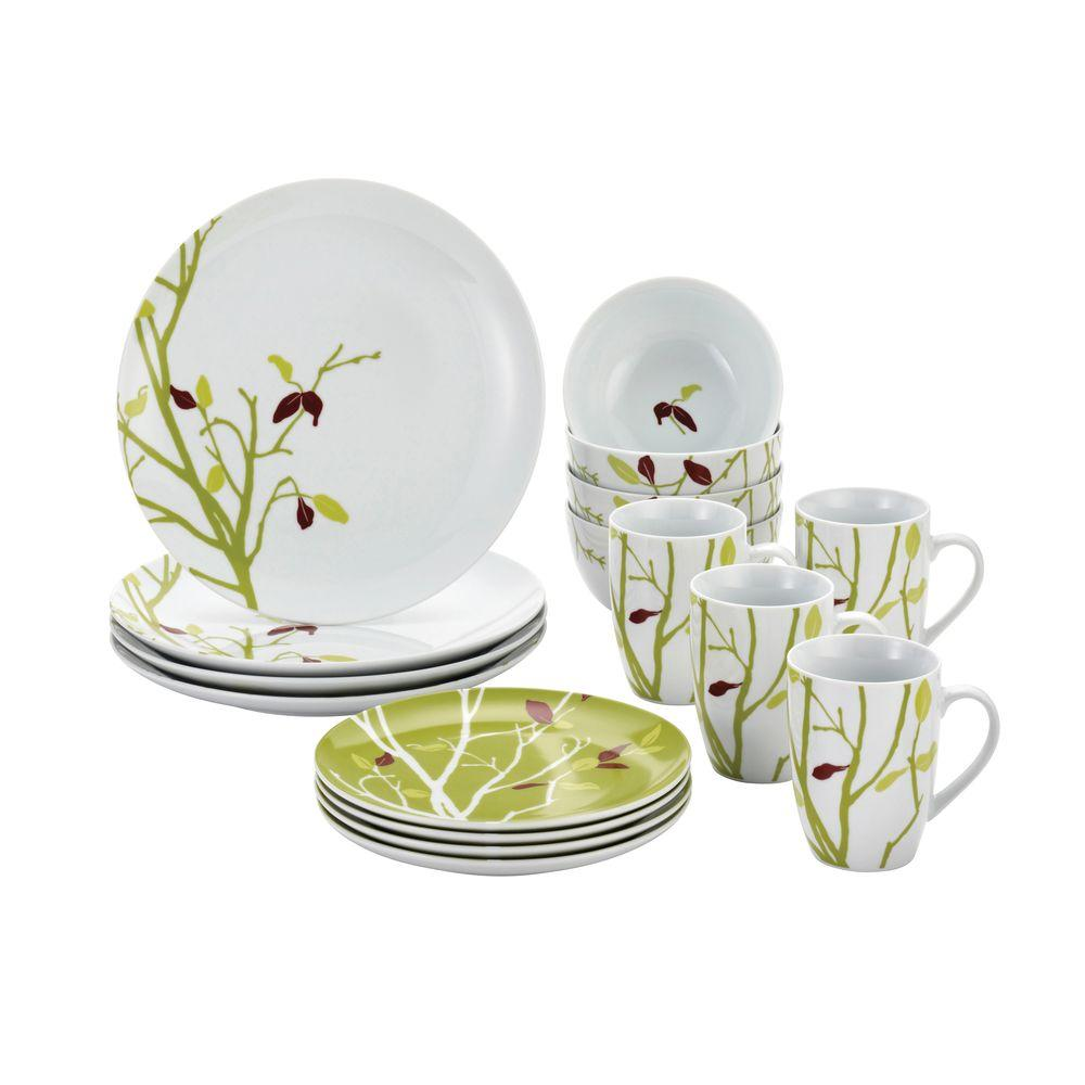 Rachael Ray 16-Piece Seasons Changing Set  sc 1 st  The Home Depot & Rachael Ray 16-Piece Seasons Changing Set-58345 - The Home Depot