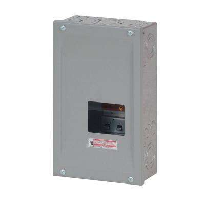 100 Amp 3-Space/Circuit Type BR 3 Phase Main Lug Load Center