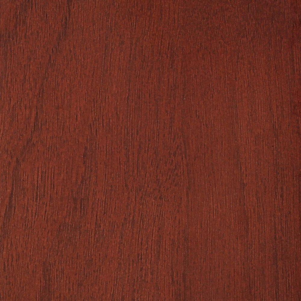 Danbury 4 in. x 4 in. Wood Sample in Dark Cherry