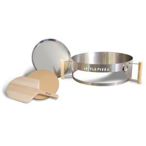 KettlePizza Deluxe Pizza Oven Kit for Kettle Grills by KettlePizza