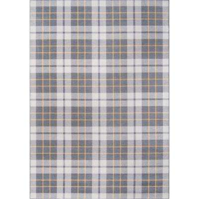 District Cadet Grey 7 ft. 6 in. X 9 ft. 6 in. Indoor Area Rug