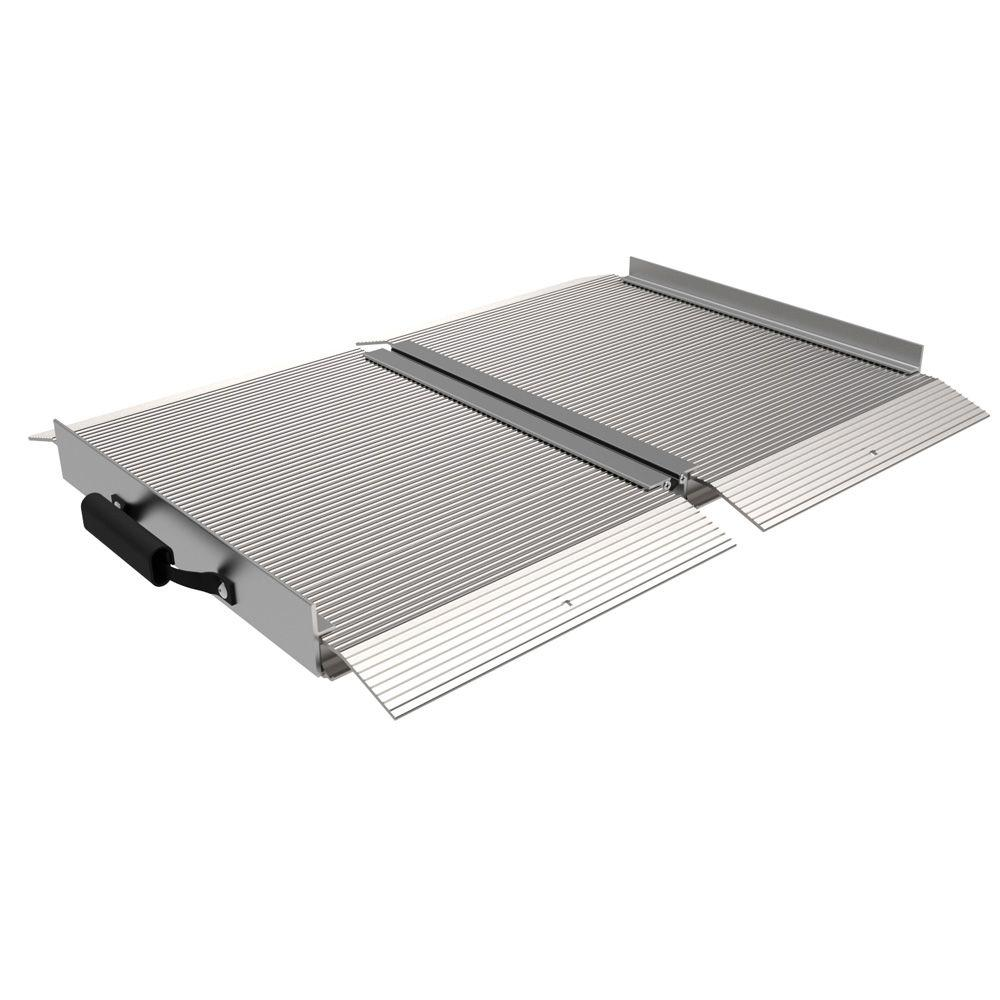 Traverse 2 ft. Aluminum Single Fold Ramp