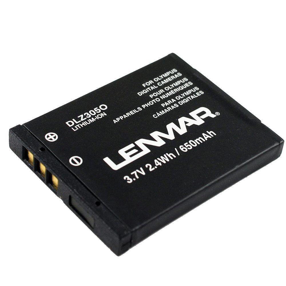 Lenmar Lithium-Ion 650mAh/3.7-Volt Digital Camera Replacement Battery