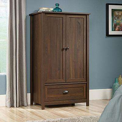 County Line Rum Walnut Armoire