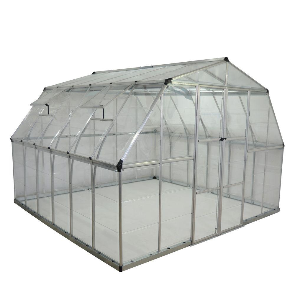 palram americana 12 ft x 12 ft greenhouse
