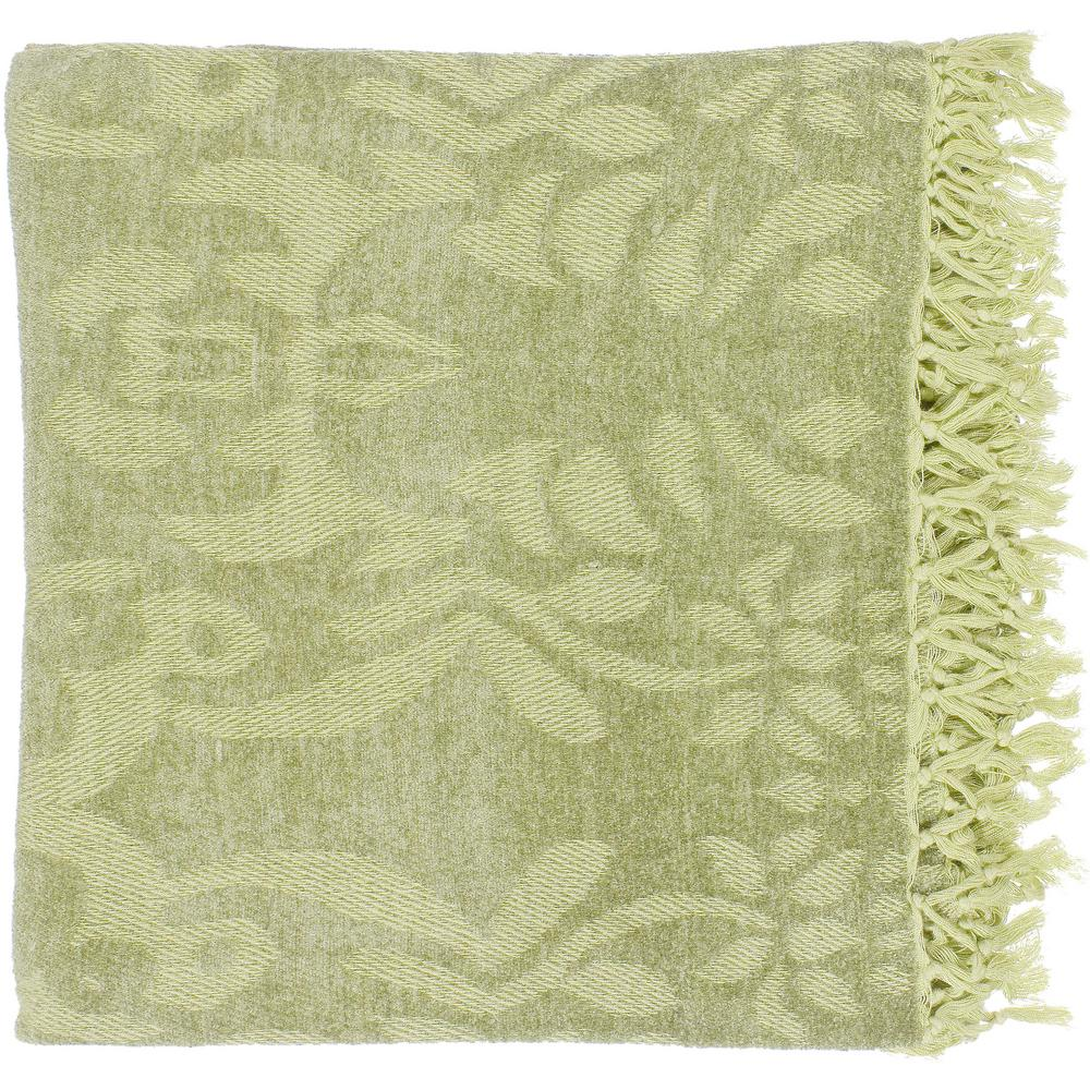 Bailey Lime Cellulose Throw