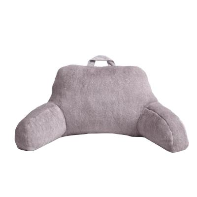 Morgan Home Millburn Faux Fur Lavender Solid Faux Fur Polyester in. x 29 in. Throw Pillow