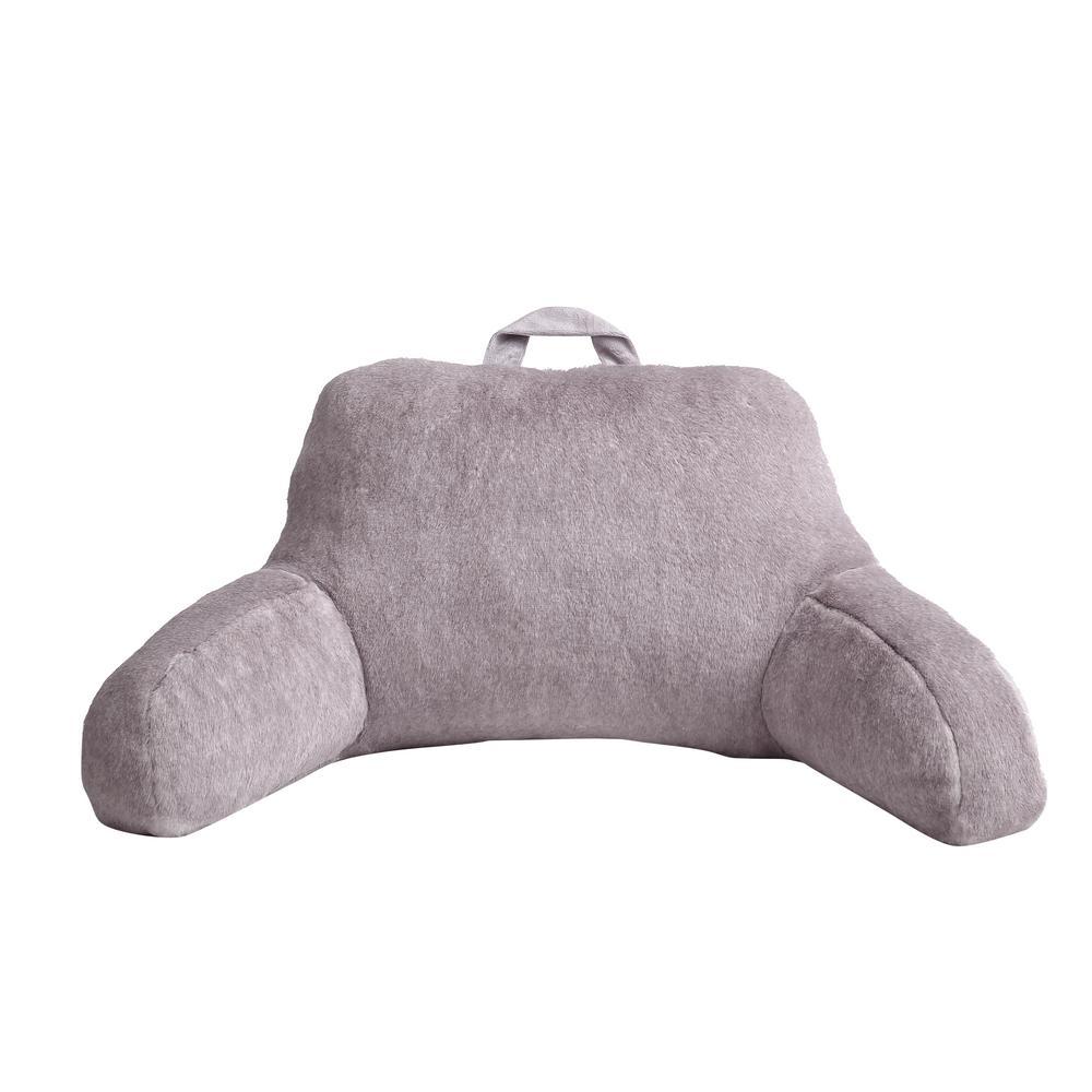 Morgan Home Millburn Lavender Faux Fur Backrest