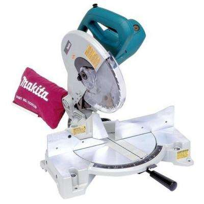 15 Amp 10 in. Corded Compact Single Bevel Compound Miter Saw with 40T Carbide Blade and Dust Bag