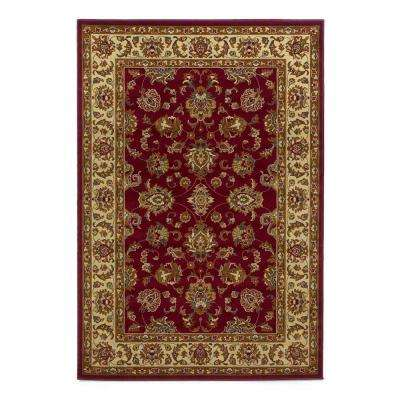 Imperial Traditions Red 2 ft. x 4 ft. Area Rug