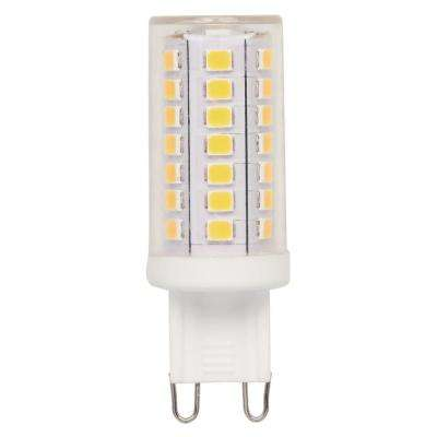 40-Watt Equivalent G9 Dimmable LED Light Bulb Bright White