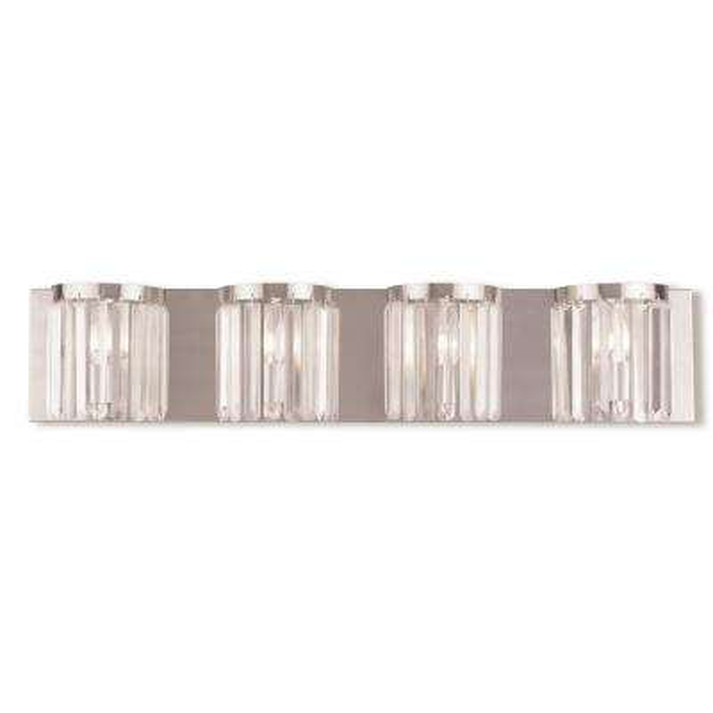 Ashton 4-Light Brushed Nickel ADA Bath Light