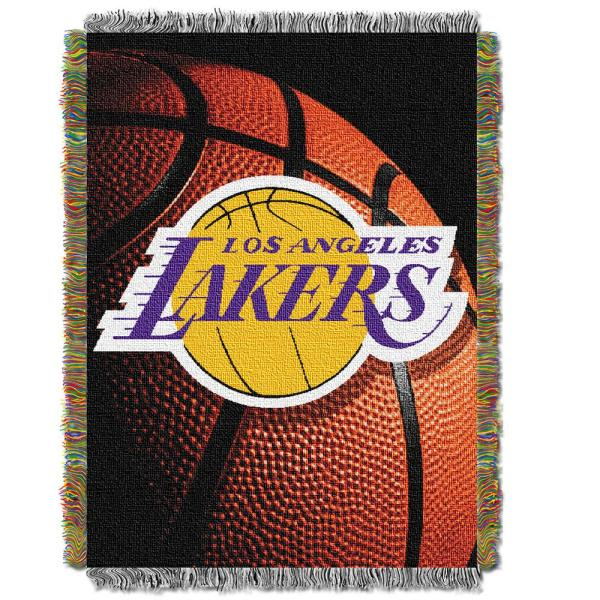 Lakers Photo Real Multi Color Polyester Tapestry throw 1NBA051030013RET