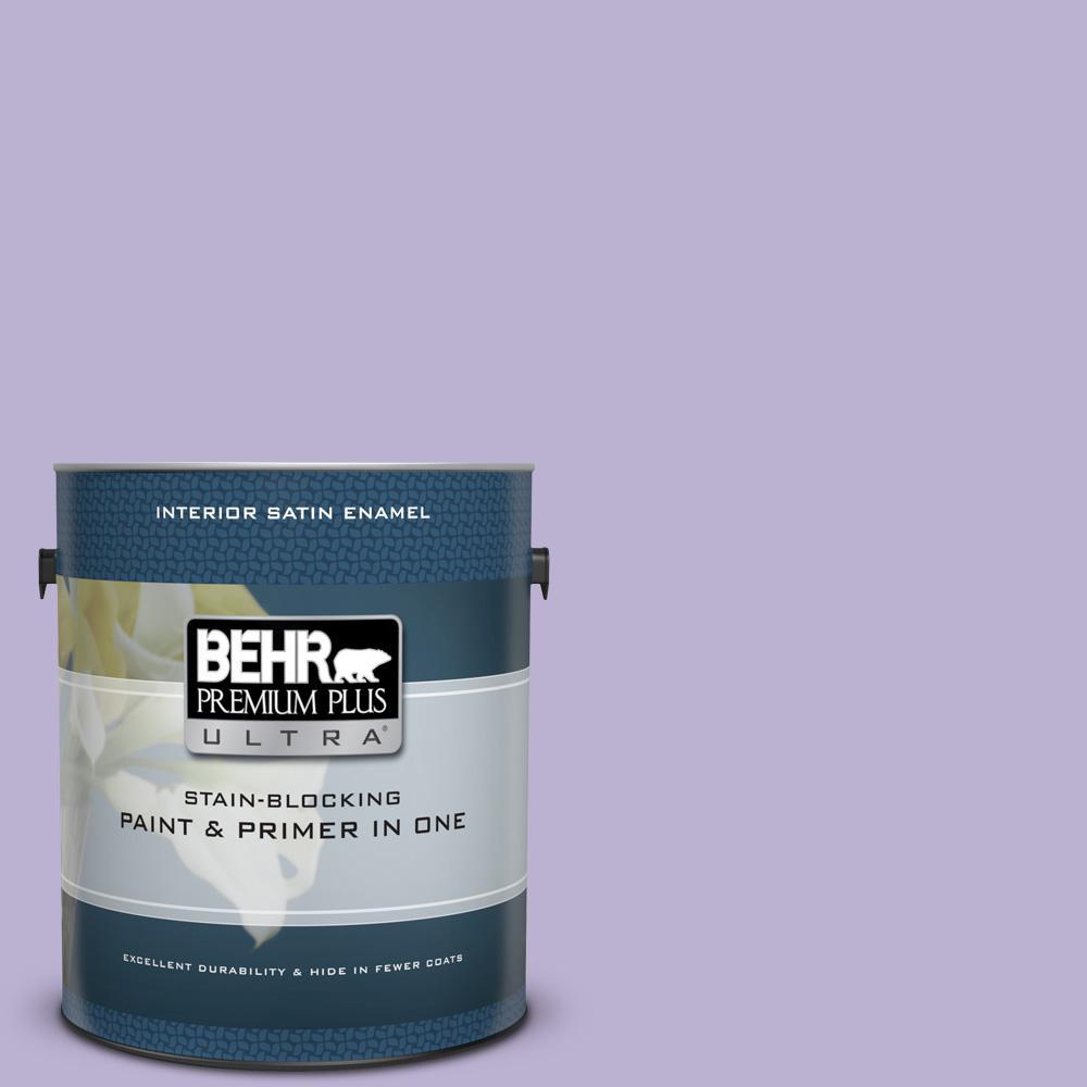 BEHR Premium Plus Ultra 1 gal. #M560-3 Grape Hyacinth Sat...
