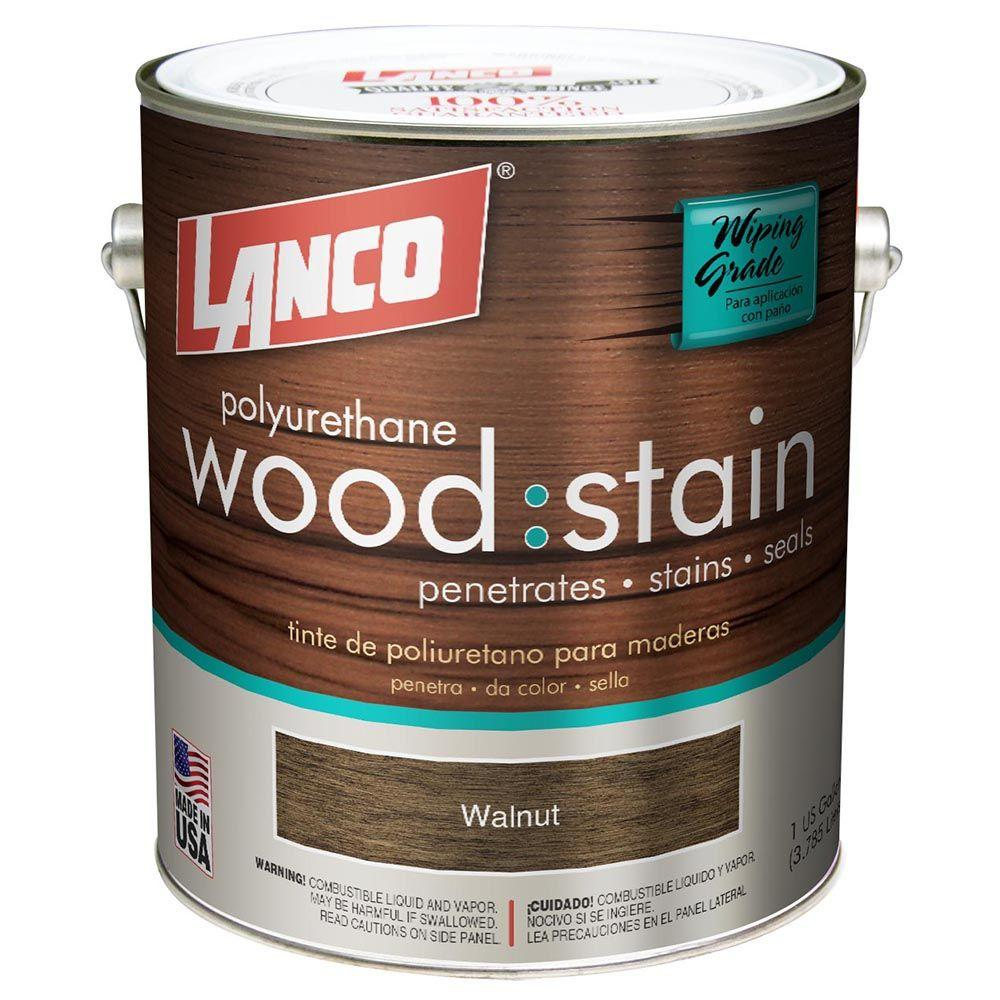 Lanco 1 gal. Walnut Interior Wood Stain