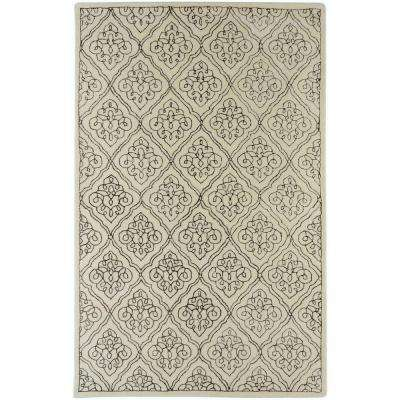 Candice Olson Ivory 8 ft. x 11 ft. Area Rug