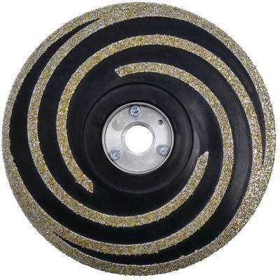 5 in. Flexible Diamond Coated Grinding Disc