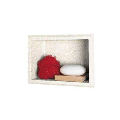 4-1/8 in. x 7-1/2 in. x 10-3/4 in. Recessed Accessory Shelf in Baby's Breath
