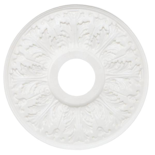 Westinghouse-15-1/2 in. Victorian White Finish Ceiling Medallion