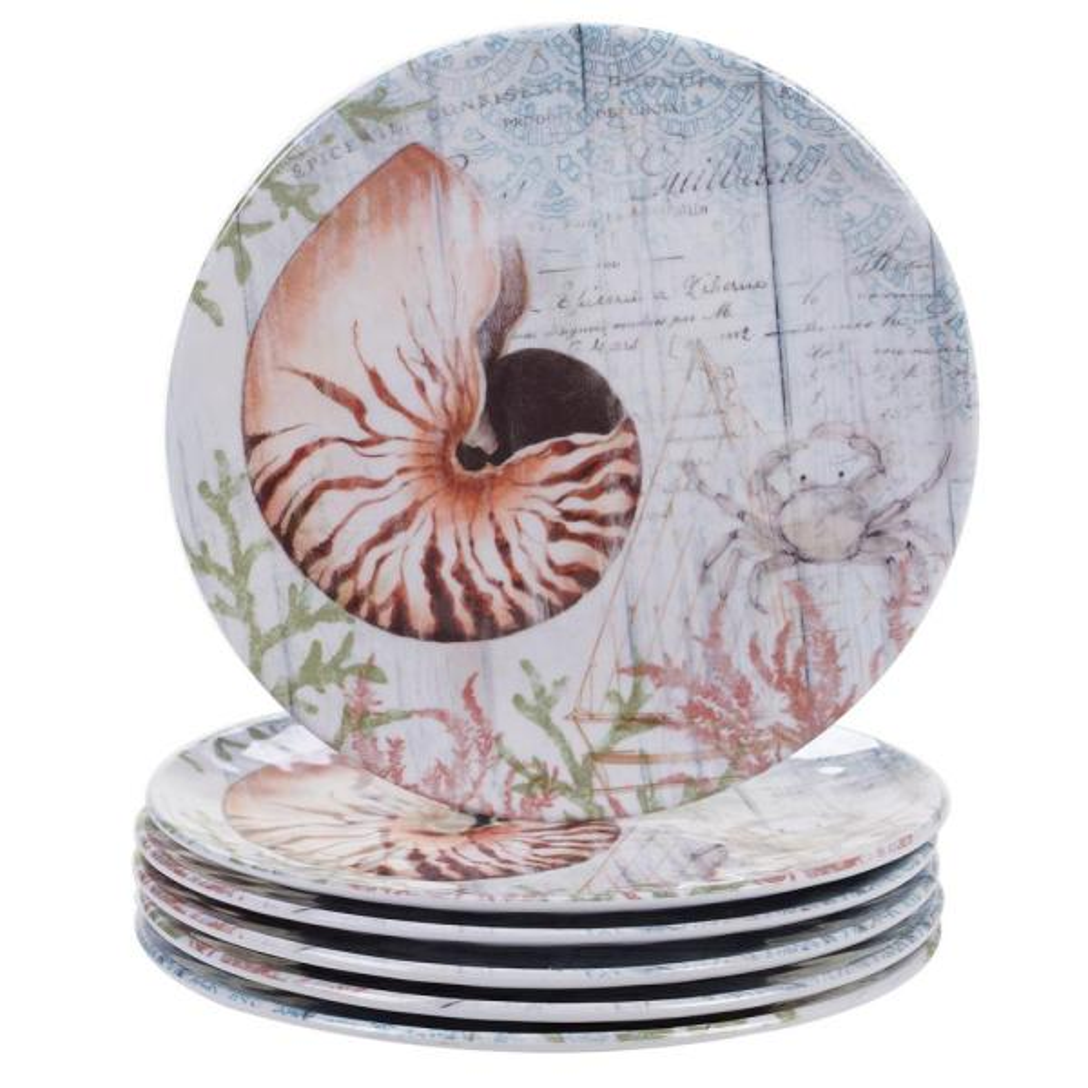 Certified International Sanibel Multicolor Salad Plate (Set of 6) 24031SET6