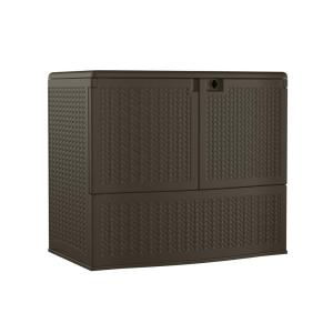 Suncast Back yard Oasis 195 Gal Storage and Entertaining Station (Brown)