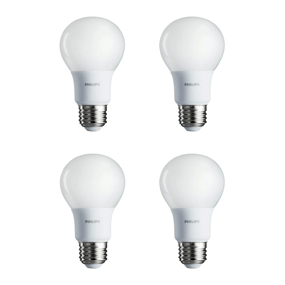 Light Soft White2700k4 Philips Dimmable A19 Non Energy Saving 40 Bulb Led Watt Pack Equivalent UVpSzqMG