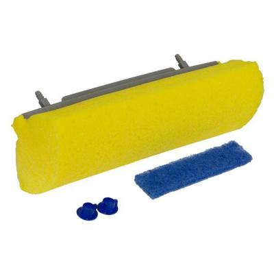Mop and Scrub Roller with Mop Refill and Microban