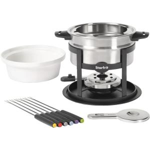 Click here to buy Starfrit 3-In-1 12-Piece Fondue Set by Starfrit.
