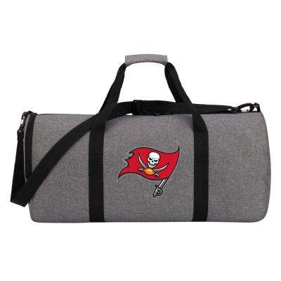 Bucs Wingman 10 in. Heathered Gray Duffle Bag