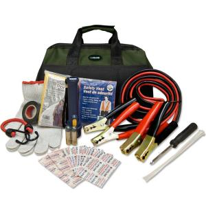 Lifeline 34-Piece Emergency Road Side Safety and First Aid Kit by Lifeline
