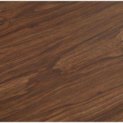 Allure 6 in. x 36 in. Dark Walnut Luxury Vinyl Plank Flooring (24 sq. ft. / case)