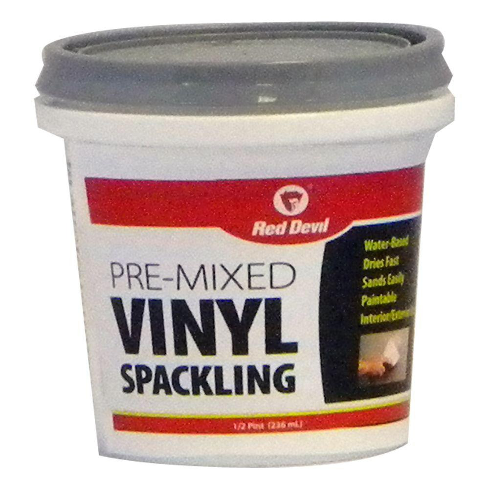 Red Devil 8 Oz Pre Mixed Vinyl Spackling 0532hd The