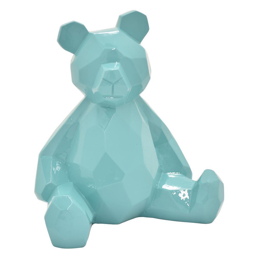 17.5 in. Teddy Bear Blue Blue