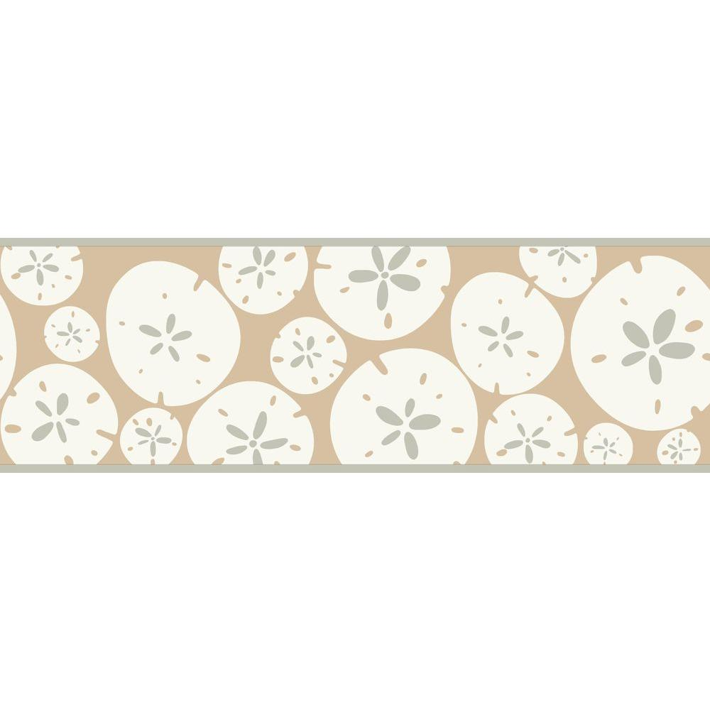 Bistro 750 Sand Dollar Wallpaper Border