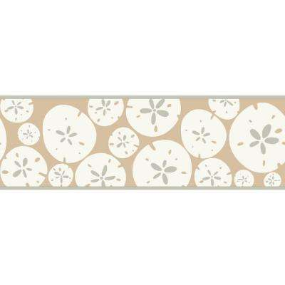 Bistro 750 Sand Dollar Wallpaper Border