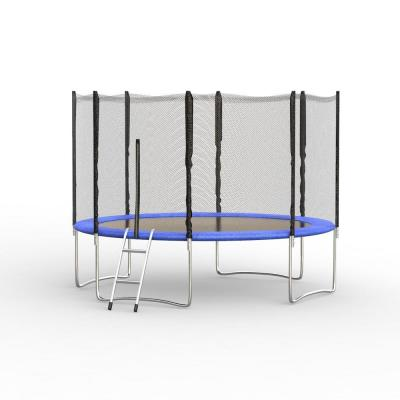 12 ft. Outdoor Trampoline Set Kid Play Jump Garden Trampoline Set Net Head Cover