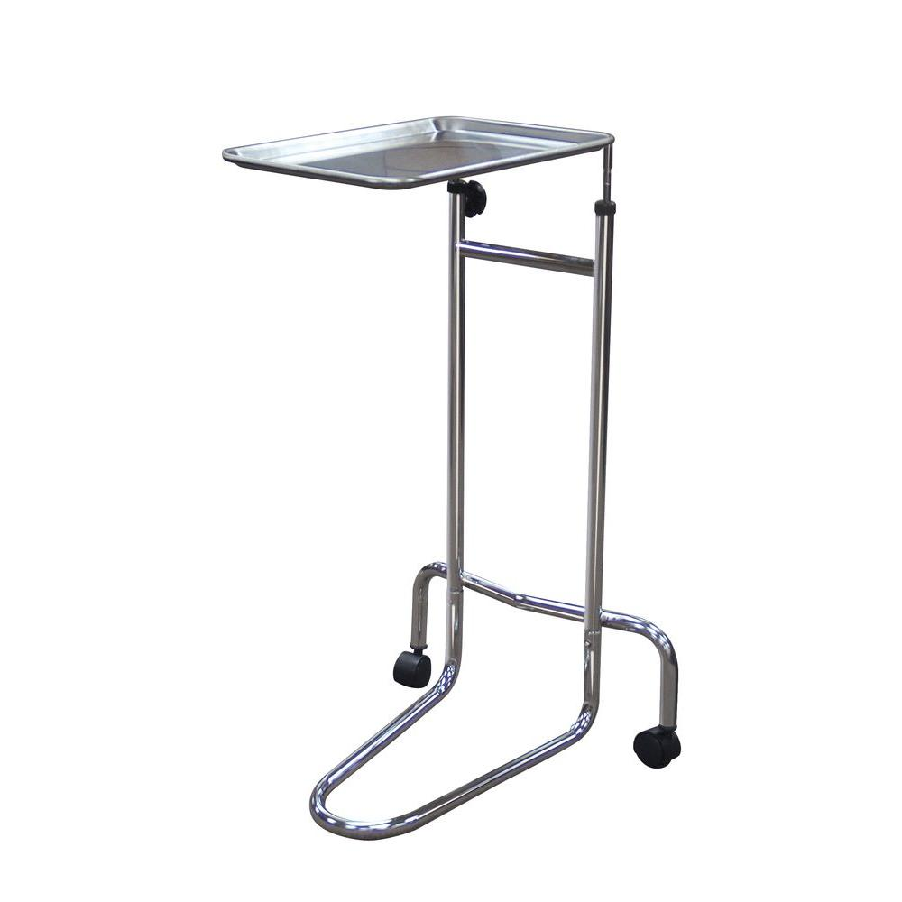 Drive Double Post Mayo Instrument Stand