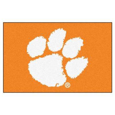 Clemson University 1 ft. 7 in. x 2 ft. 6 in. Accent Rug