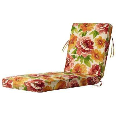 Muree Primrose Outdoor Chaise Lounge Cushion