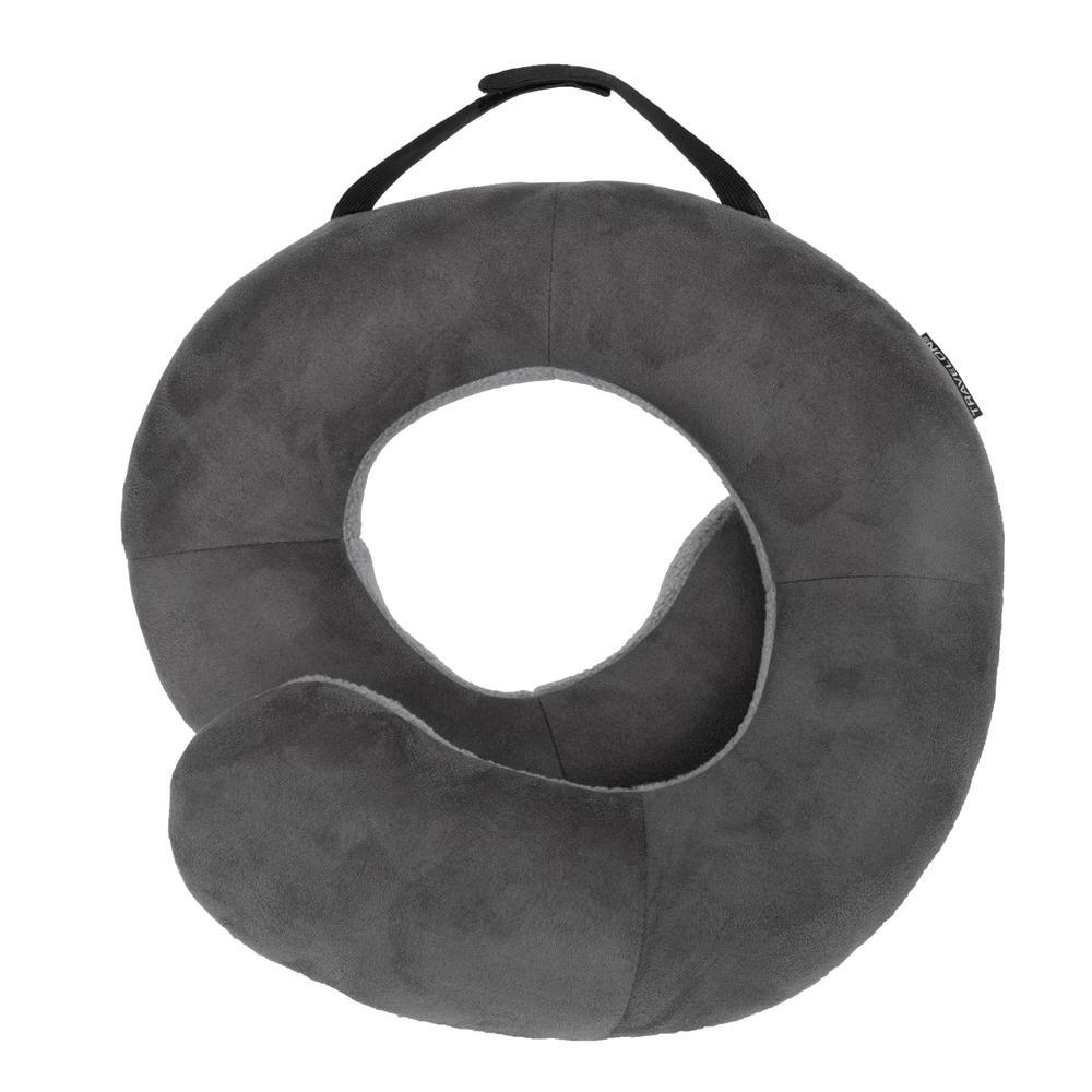 Deluxe Dark Gray/Light Gray Wrap N Rest Pillow