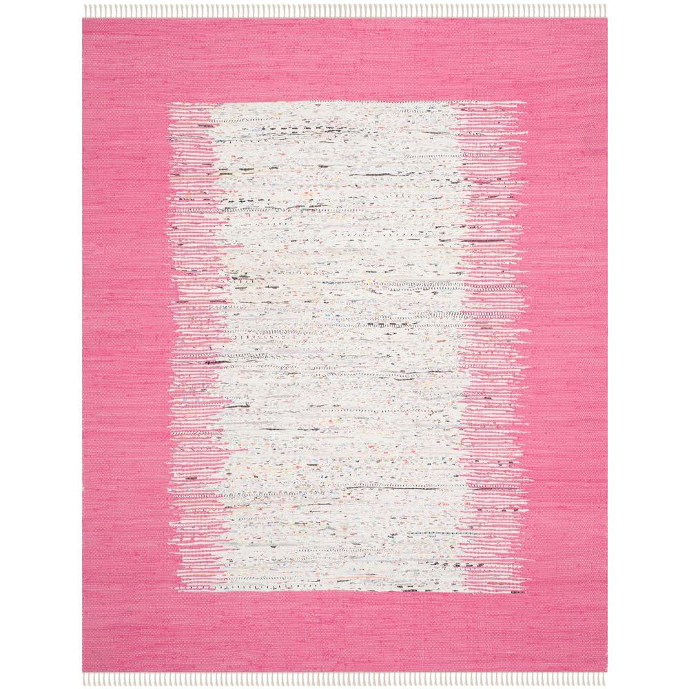 Safavieh Montauk Ivory/Pink 9 ft. x 12 ft. Area Rug
