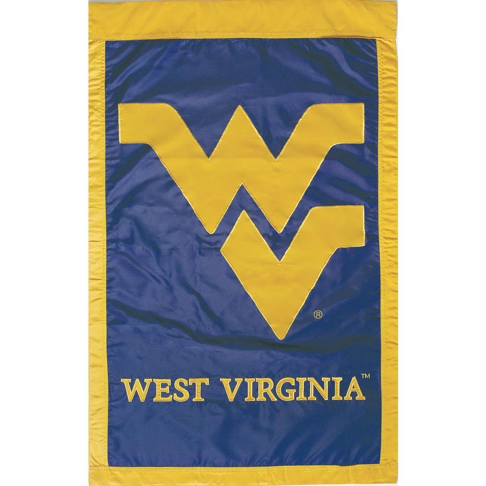 Evergreen Enterprises NCAA 28 in. x 44 in. West Virginia 2-Sided Flag