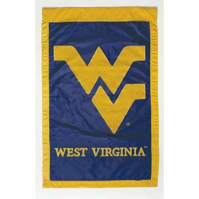 NCAA 28 in. x 44 in. West Virginia 2-Sided Flag