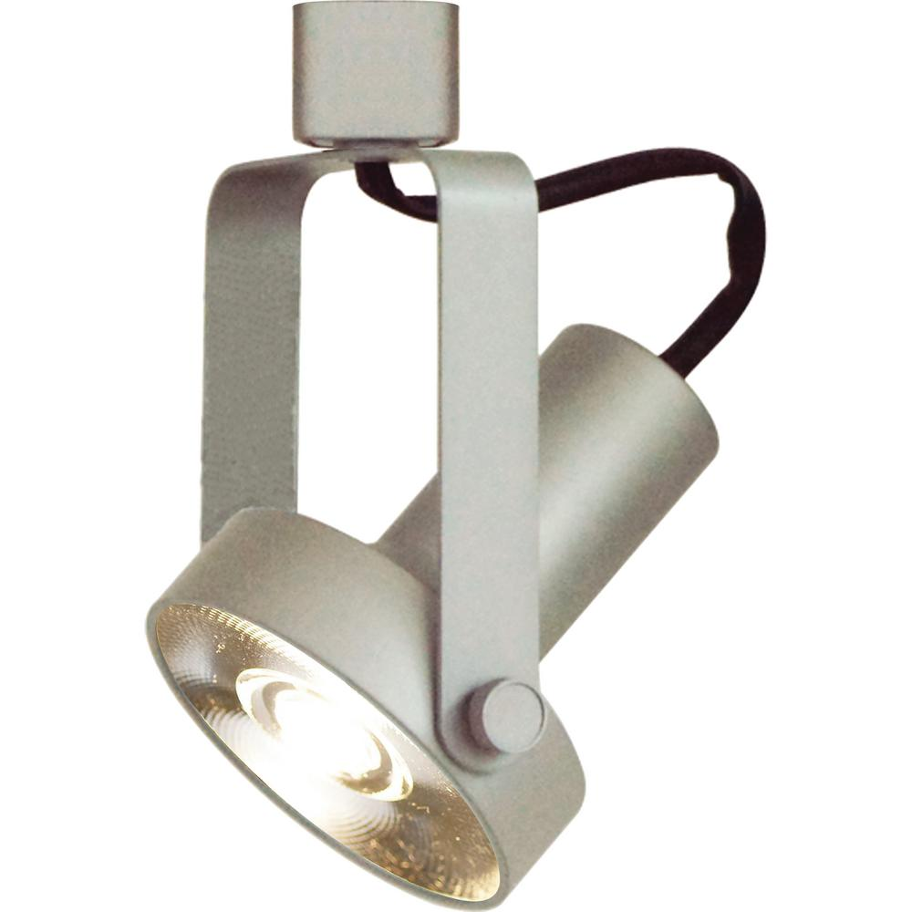 Led Track Lighting Silver: Volume Lighting 1-Light Indoor Interior Silver Gray Gimbal