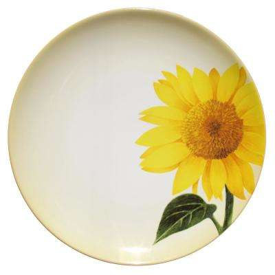 Colorwave 8.25 in. Sun Flower Accent Plate