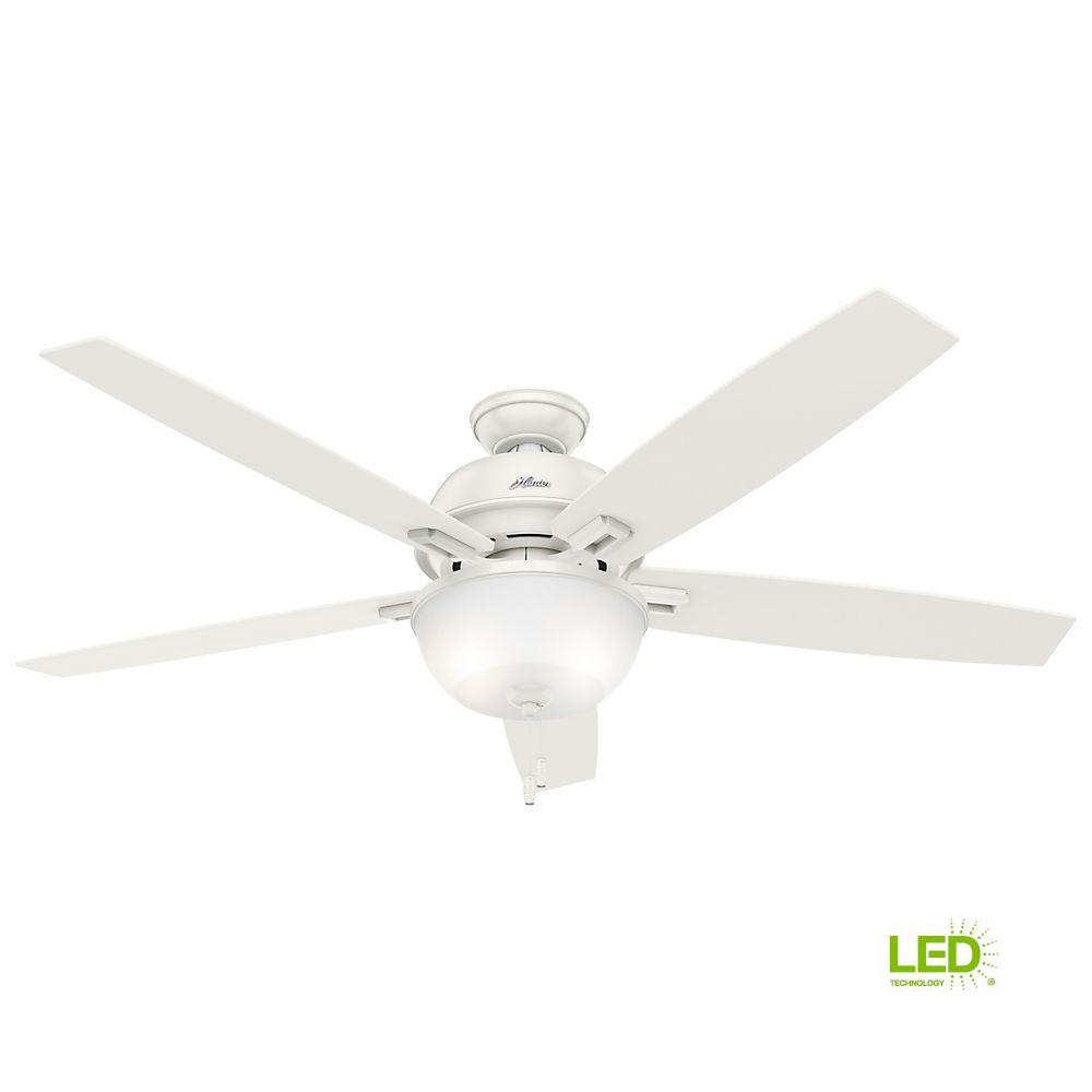 Littleton 42 In Led Indoor White Ceiling Fan With Light Kit Ub42s Controller Wiring Diagram Fresh