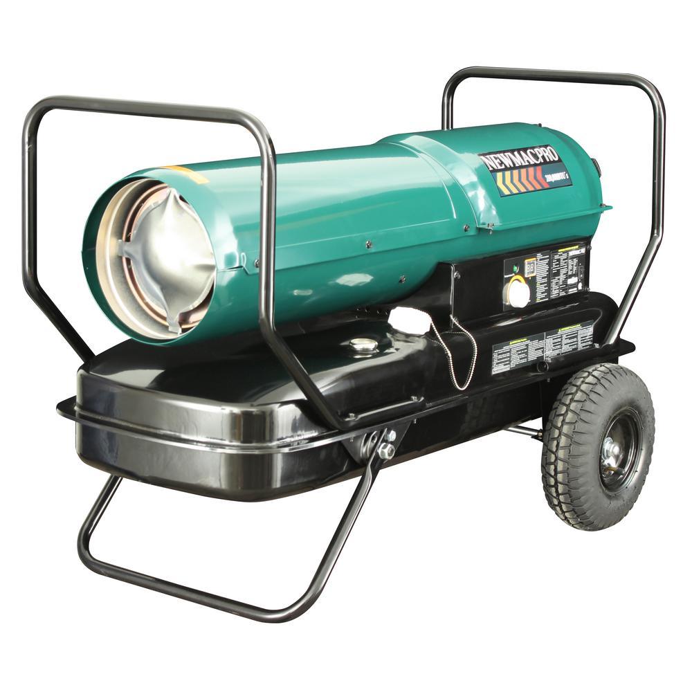 NewMac Pro 215,000 BTU Forced Air Kerosene Heater with Thermostat by Kerosene Heaters