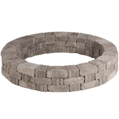 RumbleStone 59 in. x 10.5 in. Tree Ring Kit in Greystone