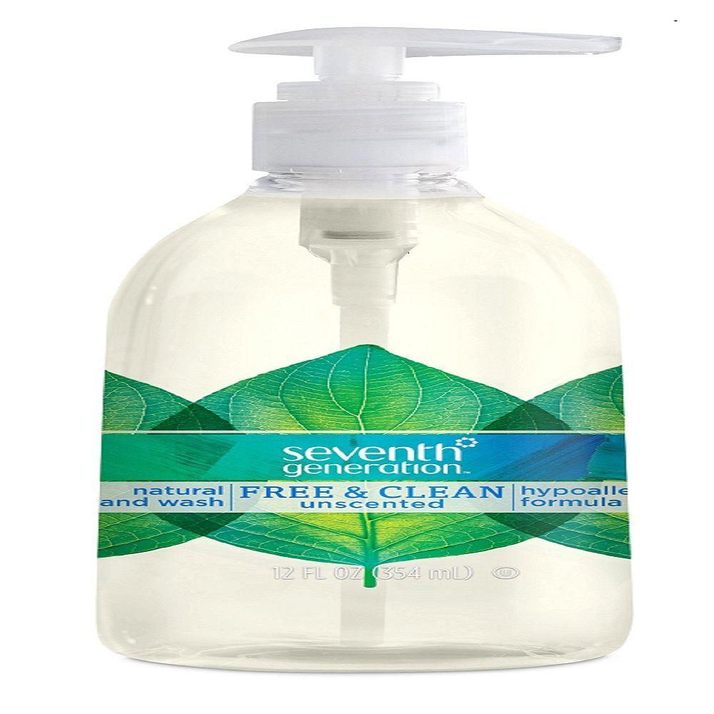 12 oz. Free and Clean Hand Wash-101472 - The Home Depot