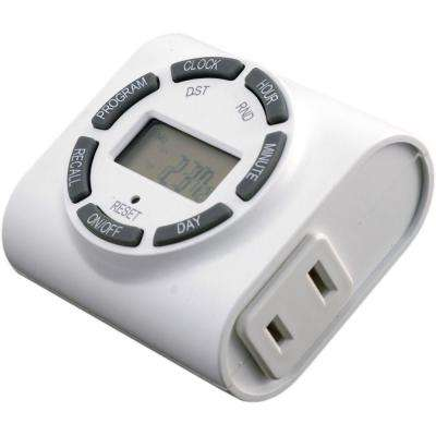 7-Day Indoor In-Wall Digital Timer